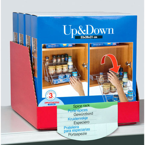 """Up & Down"" Spice & Can Holder"