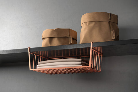 Kanguro 40 Copper Undershelf Basket