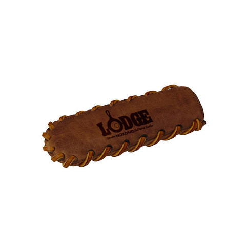 Nokona Leather Hot Handle Holder, Spiral Stitched, Coffee