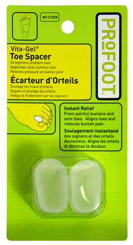 Toe Spacer (Vita Gel)