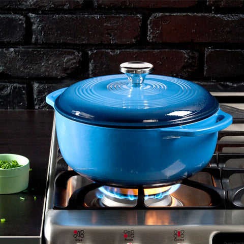 Enamel Dutch Oven 4.5 qt. (Blue)