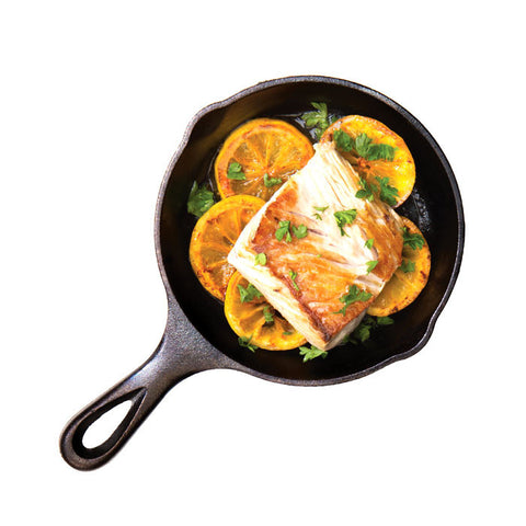 Heat Treated Cast Iron Skillet 6.5 Inch