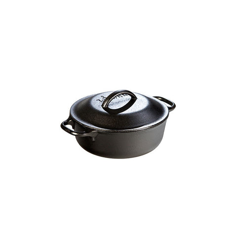 Cast Iron Serving Pot 1 qt. (with loop handles)