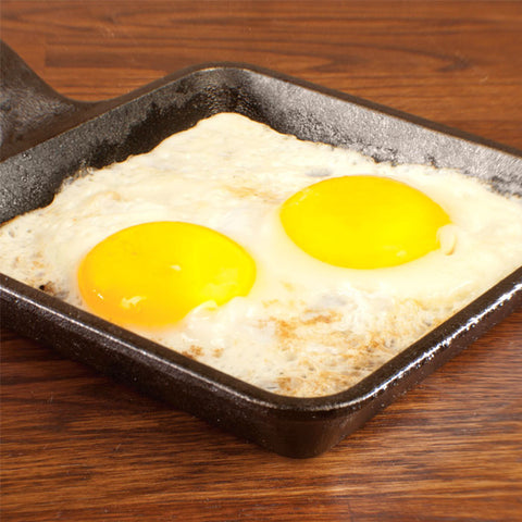 Square Cast Iron Skillet 5 Inch