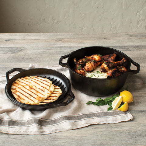 Chef Collection 6 Quart Double Dutch Oven