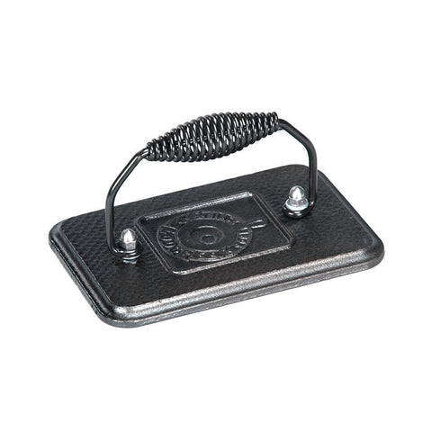 Cast Iron Grill Press 6.75 Inch x 4.5 Inch