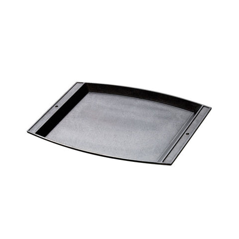 Cast Iron Rectangular Griddle 15.13 x 12.25 Inch