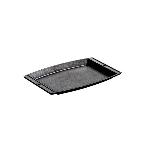 Cast Iron Rectangular Griddle 11.63 x 7.75 Inch