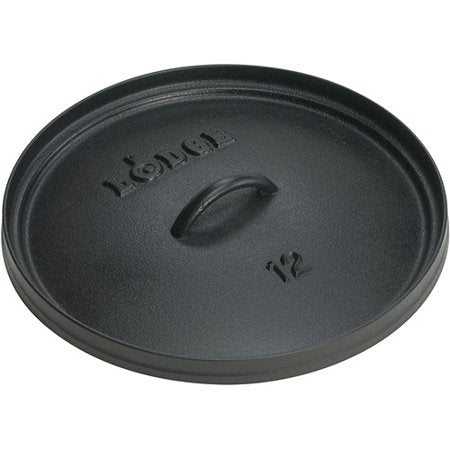 Lodge Camp Oven Lid, 12-Inch Diameter