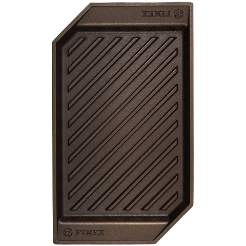 "Finex 15"" Cast Iron Square Grill"