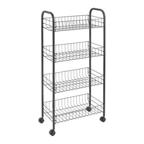 Ascona Lava 4 Tier Rolling Cart