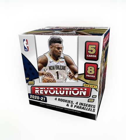 2020-2021 Panini Revolution NBA Hobby Box Factory Sealed