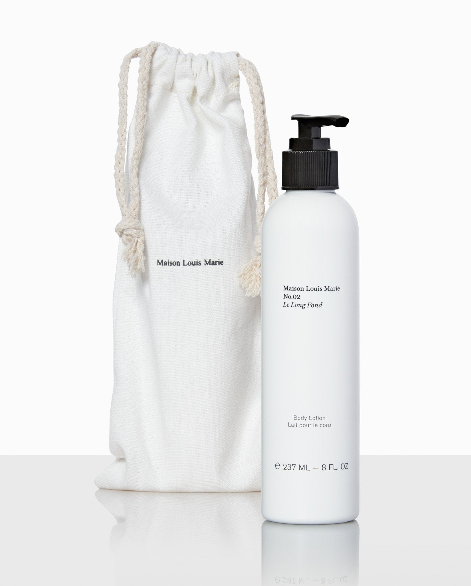 No.02 Le Long Fond - Body lotion 237ml, Cosmetic, Maison Louis Marie, SUPERCONSCIOUS BERLIN- SUPERCONSCIOUS BERLIN