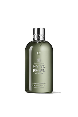 Geranium Nefertum Bath & Shower Gel, Cosmetic, MOLTON BROWN, SUPERCONSCIOUS BERLIN- SUPERCONSCIOUS BERLIN