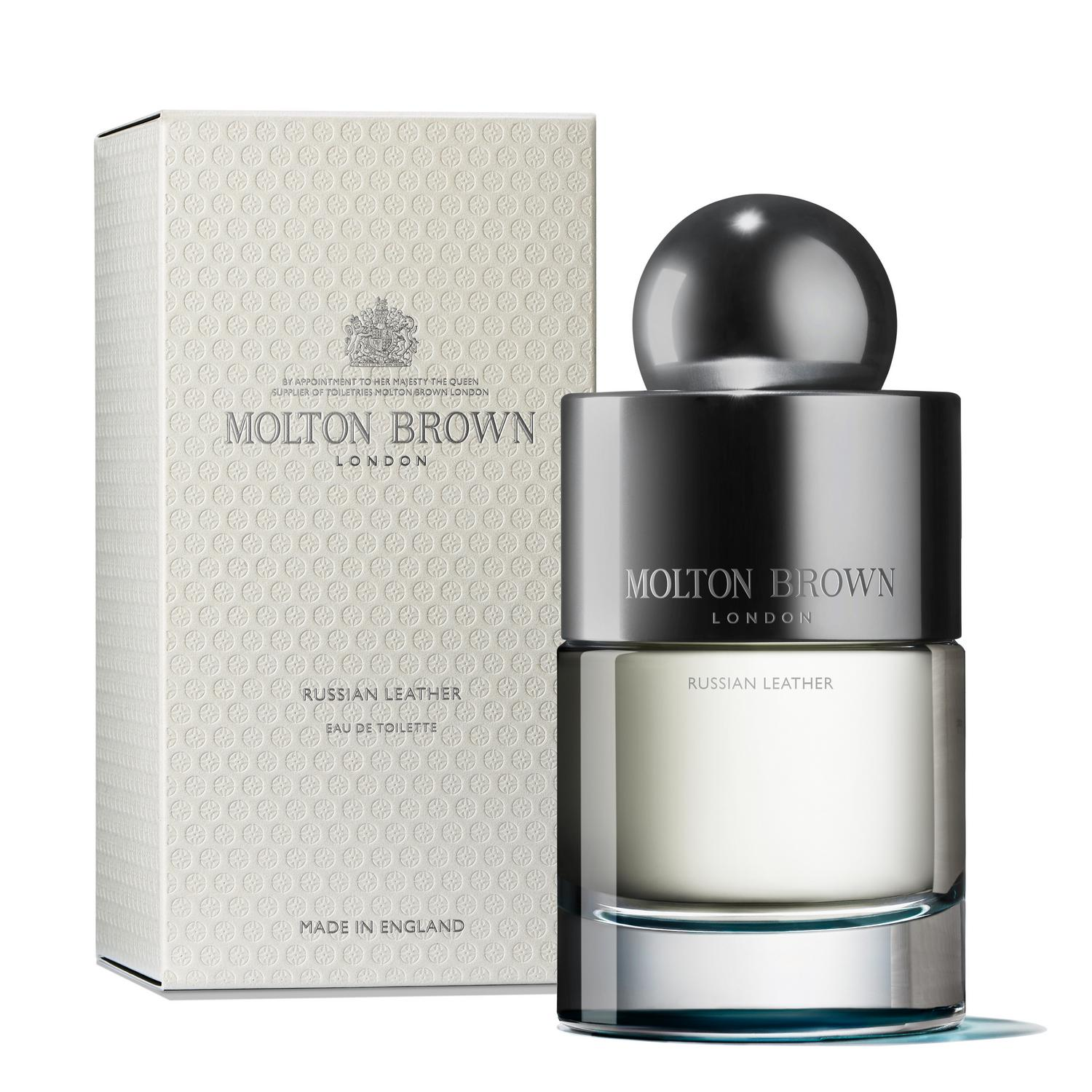 Russian Leather Eau de Toilette 50 ml, Fragrances, MOLTON BROWN, SUPERCONSCIOUS BERLIN- SUPERCONSCIOUS BERLIN