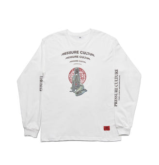 Gama White Hot Longsleeve - SUPERCONSCIOUS BERLIN