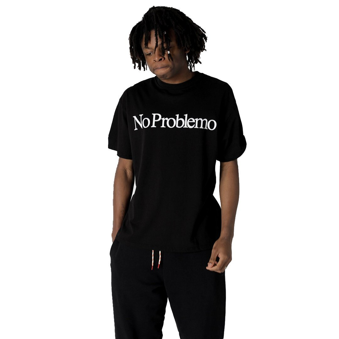 No Problemo SS Tee Black - SUPERCONSCIOUS BERLIN
