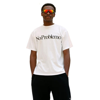 No Problemo SS Tee White - SUPERCONSCIOUS BERLIN