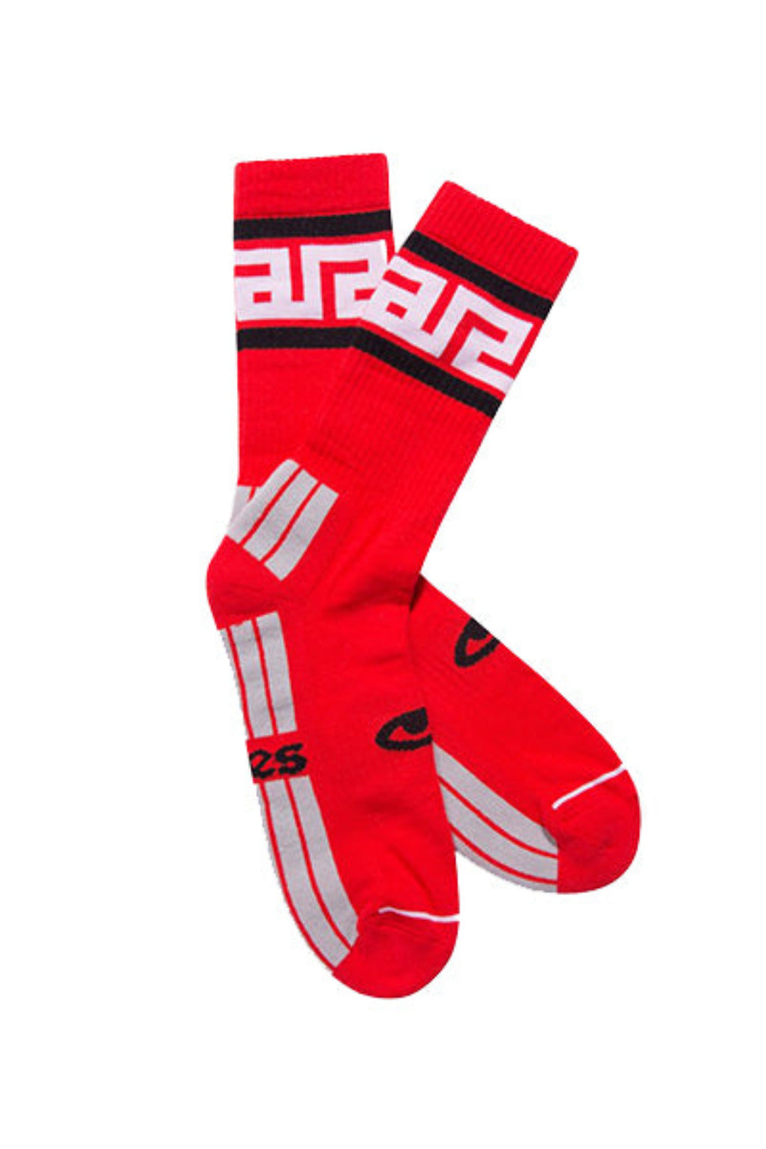 Meandros Socks Red, Socks, Aries, SUPERCONSCIOUS BERLIN- SUPERCONSCIOUS BERLIN