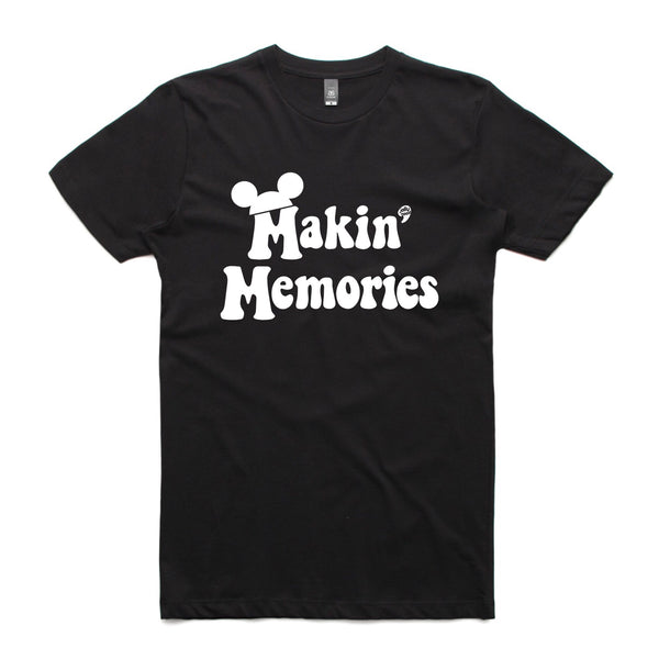 Jolly Makin' Memories Mickey kid-adult black tee