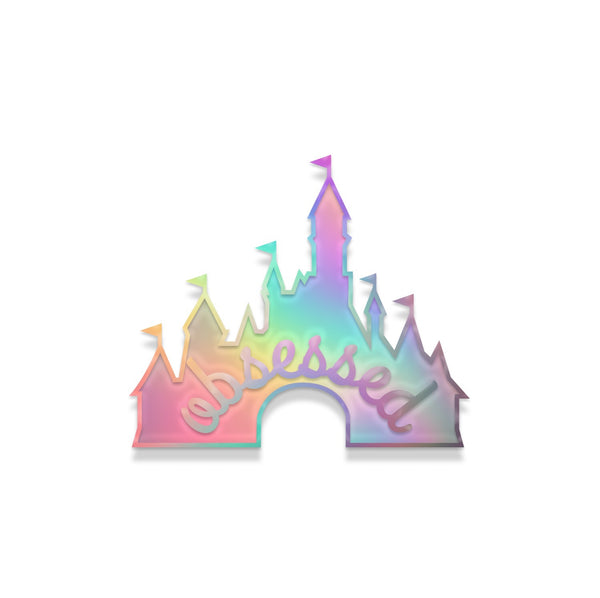Jolly DisneyFreak pin- rainbow metal
