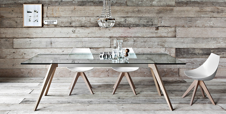 Delta Extendable Table by Pianca - Euro Living Furniture