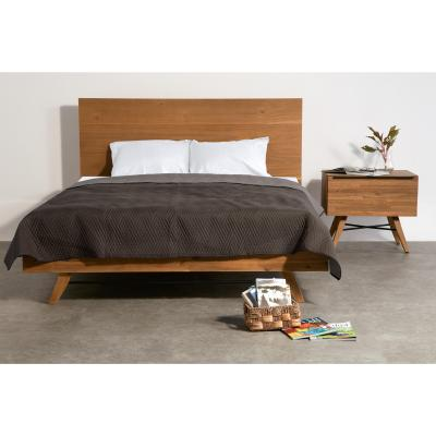 Dakota Queen Bed, Acorn Brown