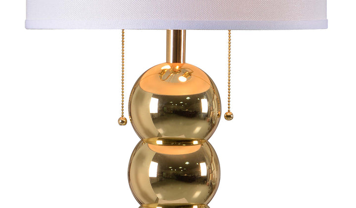 Bonny Table Lamp - Gold - Euro Living Furniture
