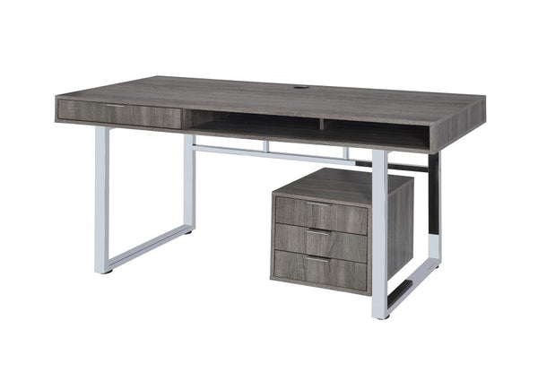 Ekson Office Desk - Grey