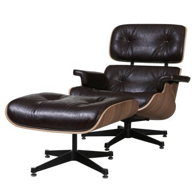 Grays Lounge Chair with Ottoman