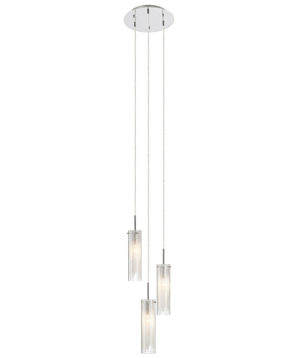 Krysalis™ – Model 83066 3-Light Mini Pendant Chandelier - Euro Living Furniture
