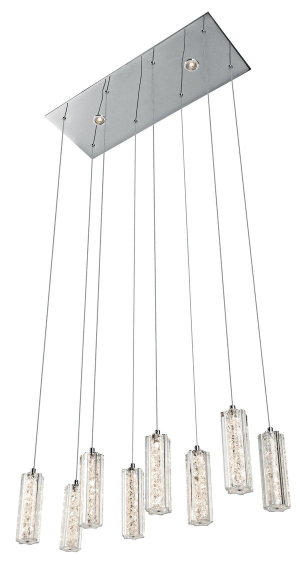 Neruda™ – Model 83422 8 + 2-Light Mini Pendant Linear