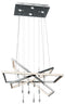 Maze™ – Model 83450 Chandelier - Euro Living Furniture