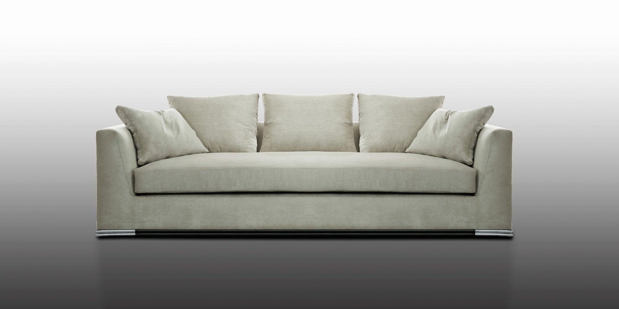Architecte bumper sofa modern american furniture orlando for American home furniture orlando