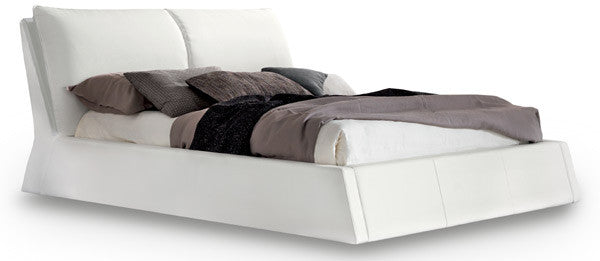 Bella Leather Bed - Euro Living Furniture