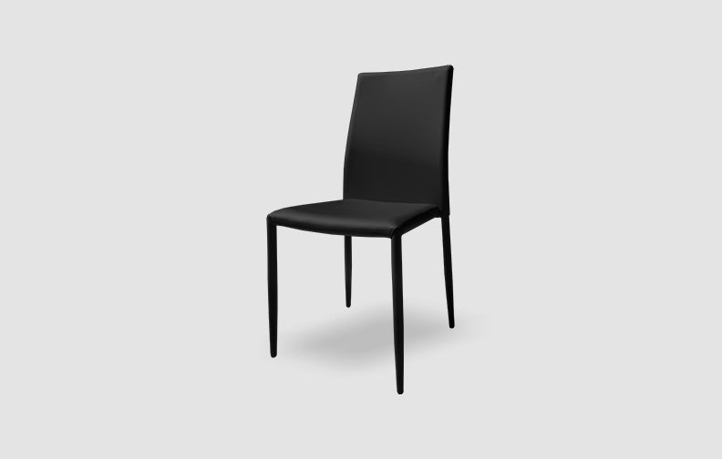 Johnny Chair in Black (Min Qty 4)