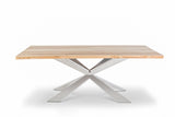 HUNTER X CONSOLE TABLE w/ Chrome Base