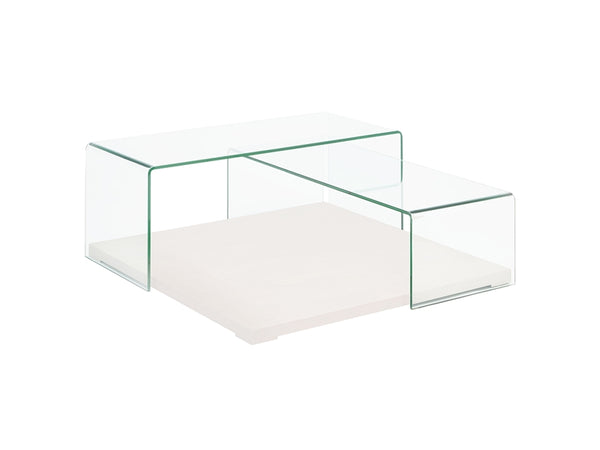Keith White Coffee Table