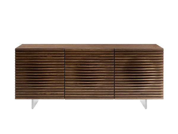 Luna Walnut Modern Buffet