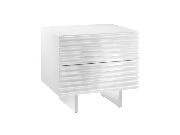 Luna White Nightstand
