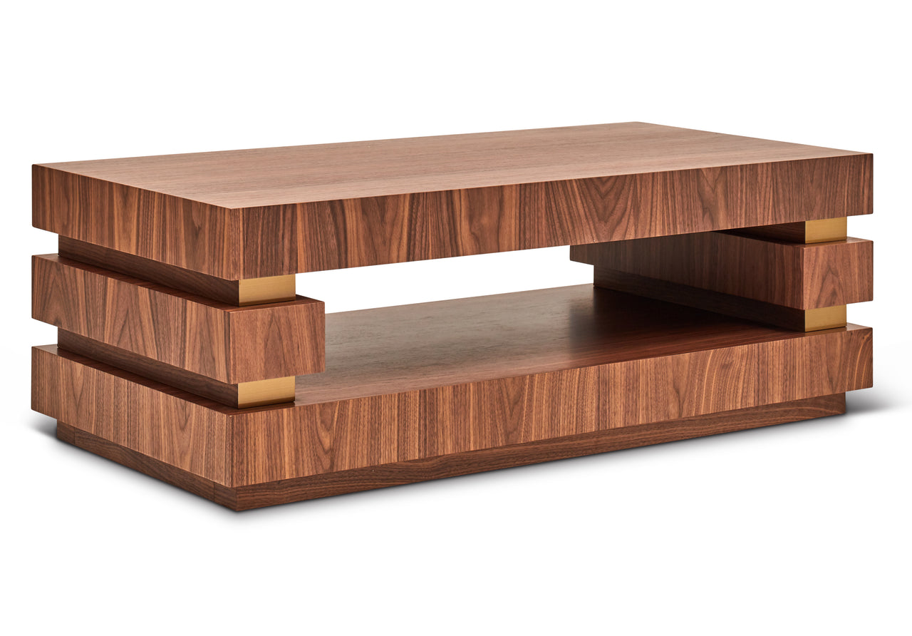 Dresden Walnut Coffee Table
