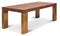 Dresden Walnut/Brass Dining Table - 87""