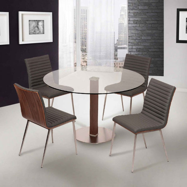 "Cassio Dining Table - 48"" - Euro Living Furniture"