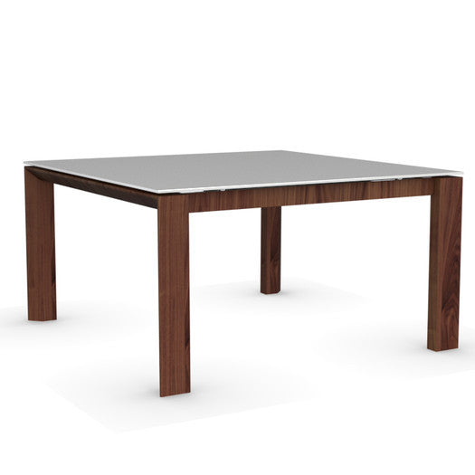 Omnia Glass Square Extendable Table - CS/4058-QLV 140 - Euro Living Furniture