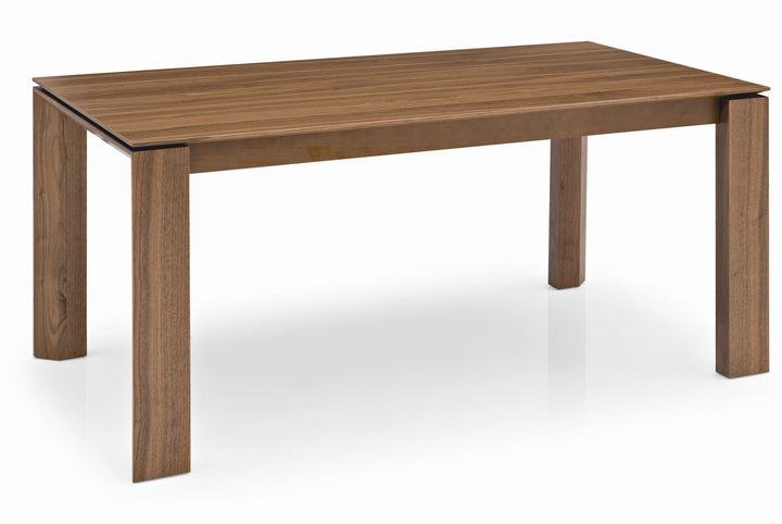 Omnia Wood Adjustable Extension Dining Table CSLL Euro - Adjustable outdoor dining table
