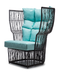 CALYX EASY ARMCHAIR HIGH BACK - Euro Living Furniture