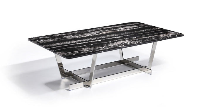 Cara Marble Coffee Table - Euro Living Furniture