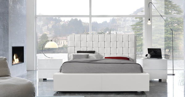 Claud Platform Bed - Euro Living Furniture
