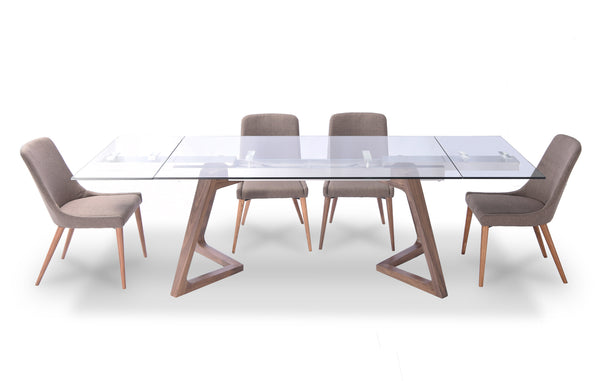 "Mateo Extendable Dining Table 70"" - 102"""