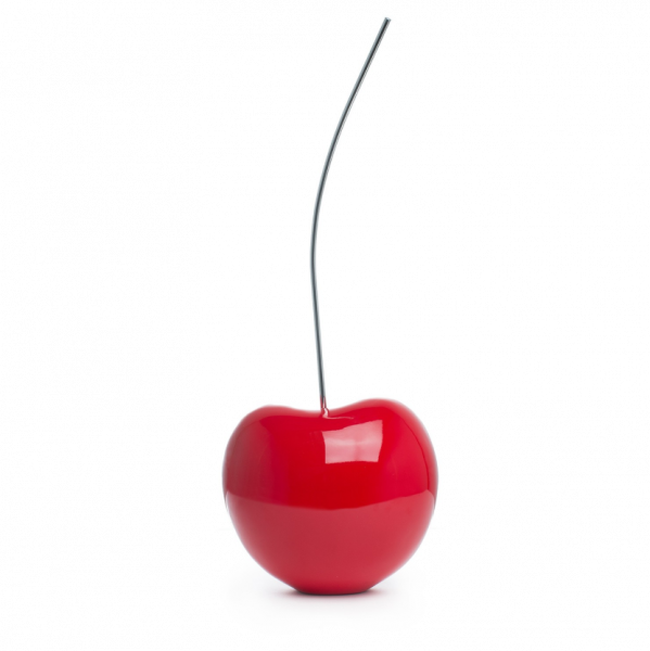 Red Cherry Sculpture